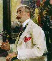 Портрет Н.Д.Ермакова. 1914