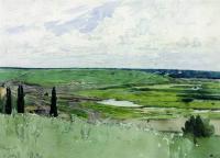 Пейзаж под Чугуевом.
