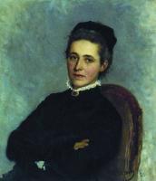 Портрет Ю.Б.Репман. 1881