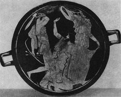 Аполлон, убивающий гиганта Тития