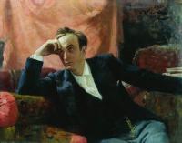 Портрет артиста Г.Г.Ге. 1895