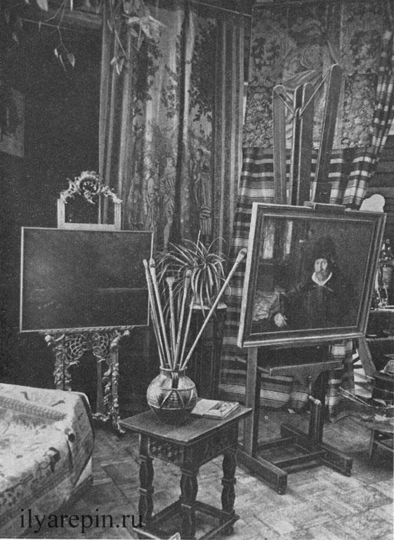 Зимняя мастерская. Фотография 1975 г.