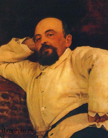 Портрет Саввы Мамонтова (Репин И.Е.)