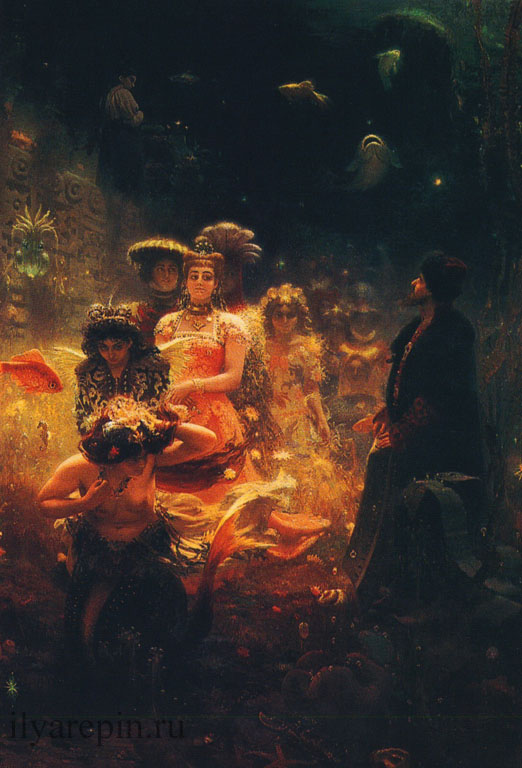 Садко в подводном царстве. 1876