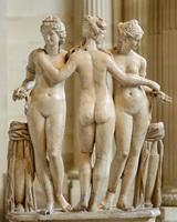 Хариты (копия древнегреческой скульптуры)