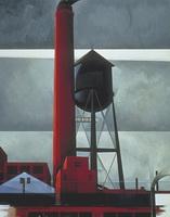 Дымоход и водонапорная башня (Ч. Демут)