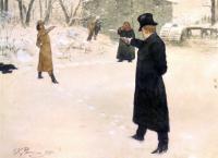 Дуэль Онегина и Ленского 1899