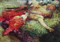Спящий казак. 1914