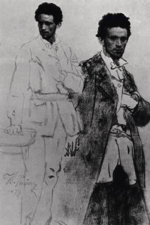 Н.Н. Вентцель. Этюд. 1879