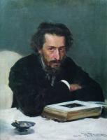 Портрет композитора П.И.Бларамберга. 1884