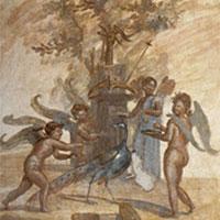Амуры и Психея (пинакс)