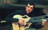 Портрет художника В.С.Сварога. 1915