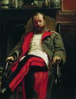Портрет композитора Ц.А.Кюи. 1890