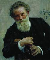 Портрет писателя В.Г.Короленко. 1912