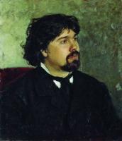 Портрет художника В.И.Сурикова. 1877