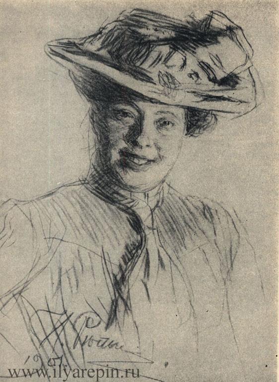 Н. Б. Нордман-Северова. Сангина. 1901