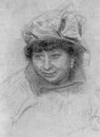 В.И. Репина. Рисунок 1926