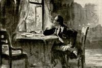 Иллюстрация к роману М.Ю. Лермонтова. 1890-е