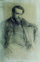 Портрет художника В.А.Серова. 1897
