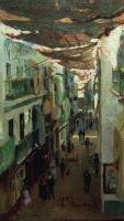 (Змеиная улица) в Севилье. 1883