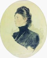 Портрет Марии Борисовны Чуковской. 1909
