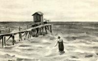 На взморье. 1920 г.