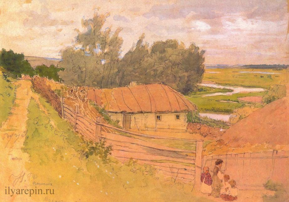 Деревня Мохмачи близ Чугуева. 1877