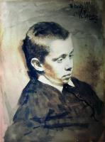 Портрет А.С.Матвеева в детстве. 1881