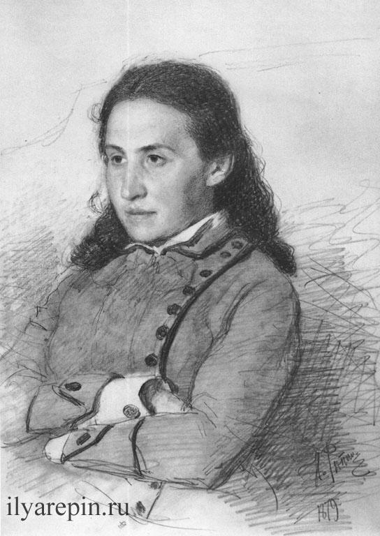 Портрет Е.Г. Мамонтовой. 1879