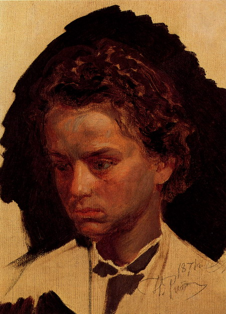 Скульптор И.Я. Гинцбург в юности. 1871