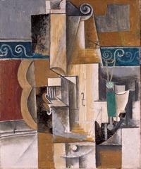 Гитара и скрипка (П. Пикассо, 1912 г.)
