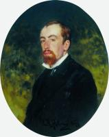 Портрет художника В.Д.Поленова. 1877