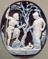 Афина и Посейдон (камея)