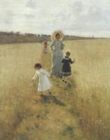 На меже. 1879
