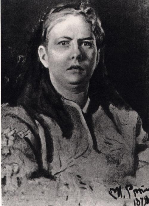 Е.И. Бларамберг-Апрелева. Этюд. 1878