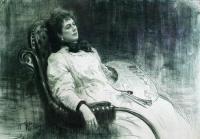 Портрет М.К.Тенишевой. 1898