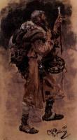 Странник. Этюд. 1881