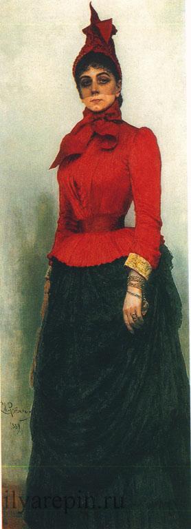 Портрет И.И. Икскуль фон Гильденбрандт