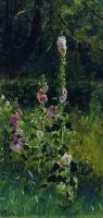 Мальвы. 1880