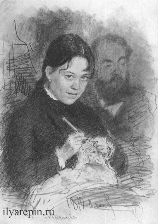 З.Л. Прахова и Р.С. Левицкий. 1879
