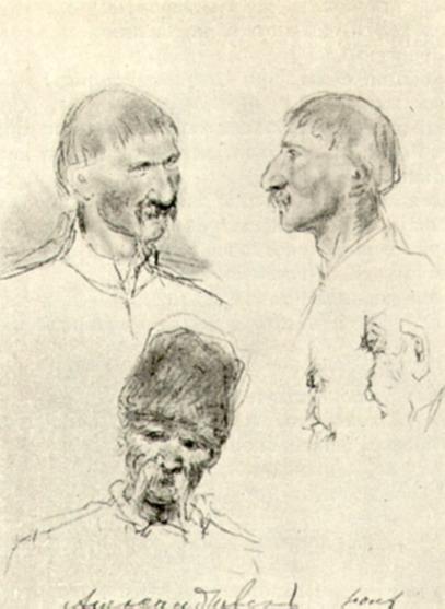 Типы украинцев. Рисунки. 1880