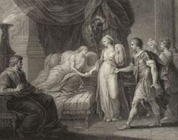 Смерть Арситы (Ф. Бартолоцци)