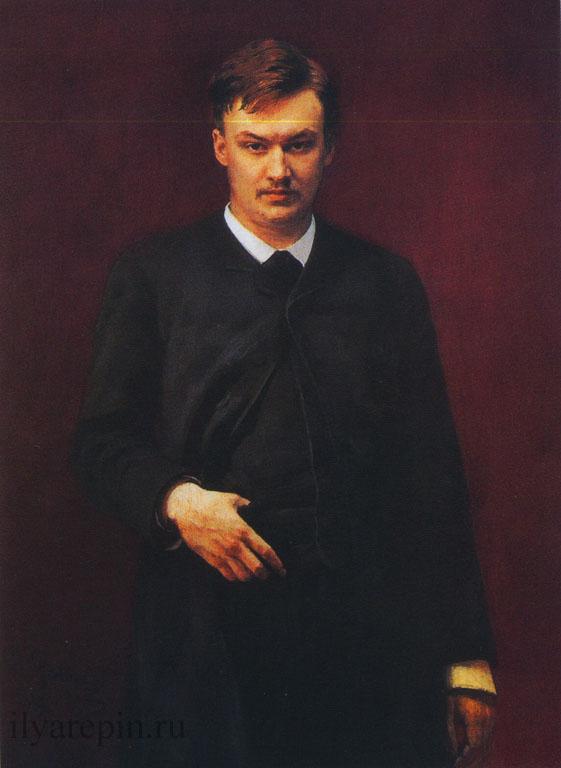 Портрет композитора А. Глазунова